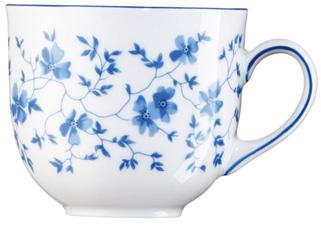 Kaffee Obere 0,21ltr 1382 Blau Blüten