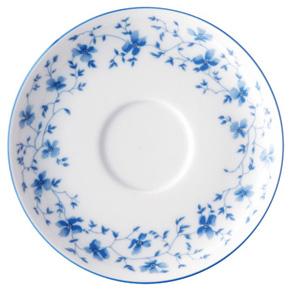 Kaffee-Untere 14 cm 1382 Blau Blüten