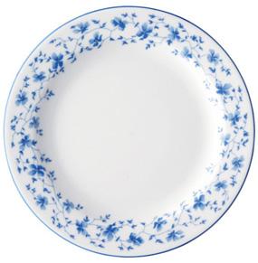 Frühstücksteller fl. 19cm 1382 Blau Blüten