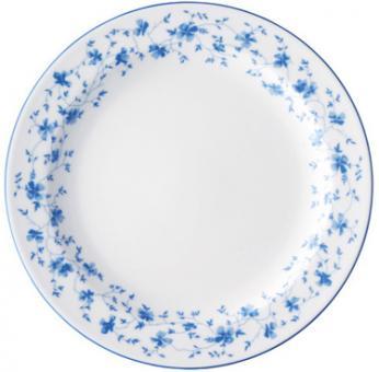 Speiseteller fl. 25cm 1382 Blau Blüten