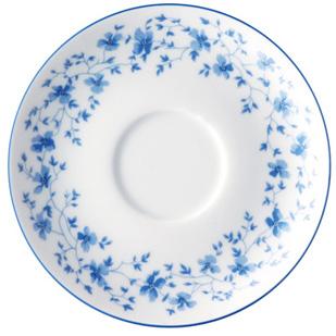 Tee-Untere 1382 Blau Blüten