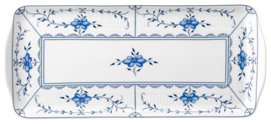 Kuchenplatte eckig 35 cm Amina Strohblume